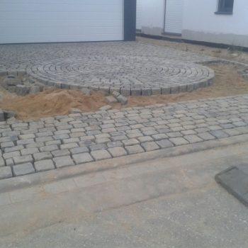 Natursteine, Einfahrt, Garage