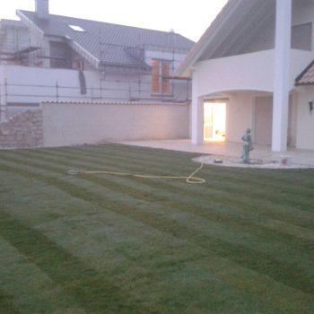 Sport und Spiel Rasen, Terrasse, Garten
