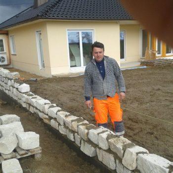 Garten, Mauer, Neubau, Zekeriya Ertürk